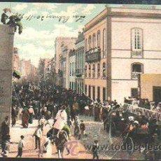 Postales: TARJETA POSTAL LAS PALMAS - CALLE TRIANA. CARNEVAL. 4133.. Lote 34196017
