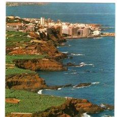 Postales: TENERIFE - PUERTO DE LA CRUZ LA COSTA - EDICIÓN ESCUDO DE ORO - POSTAL. Lote 34229930