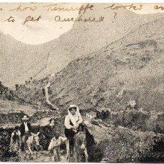 Postales: TENERIFE, CAMINO DE TAGANANA, SALIDA DE PUEBLO, EDIT.NOBREGAS ENGLISH BAZAR. Lote 34402248