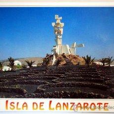 Postales: LANZAROTE. ISLA DE LANZAROTE. MONUMENTO AL CAMPESINO.. Lote 34420034