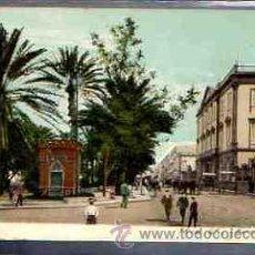 Postales: TARJETA POSTAL DE LAS PALMAS - PARQUE Y CAPITANIA. 4163.. Lote 34433349