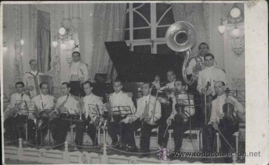 LAS PALMAS (GRAN CANARIA).- FOTOGRAFÍA DE ORQUESTA (Postales - España - Canarias Moderna (desde 1940))