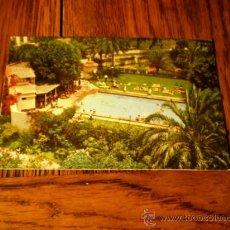 Postales: POSTAL LAS PALMAS DE GRAN CANARIA PISCINA DEL HOTEL SANTA CATALINA. Lote 34916723