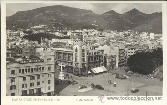 SANTA CRUZ DE TENERIFE (TENERIFE).- VISTA PARCIAL (Postales - España - Canarias Moderna (desde 1940))