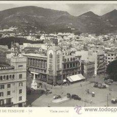 Postales: SANTA CRUZ DE TENERIFE (TENERIFE).- VISTA PARCIAL. Lote 35080805