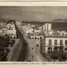 Postales: BONITA POSTAL - LAS PALMAS DE GRAN CANARIA (CANARIAS) - CALLE LEON Y CASTILLO - FOT. A. MESA. Lote 35211612
