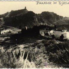 Postales: INTERESANTE POSTAL - TEJEDA (GRAN CANARIA) - CANARIAS - PARADOR Y ROQUE NUBLO. Lote 35212811