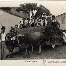 Postales: BONITA POSTAL - TENERIFE - CARRETA TIPICA TIRADA POR BUEYES - MUY AMBIENTADA - ED. ARRIBAS. Lote 35213631