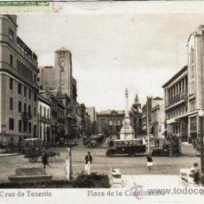 Postales: BONITA POSTAL - SANTA CRUZ DE TENERIFE - PLAZA DE LA CONSTITUCION - AMBIENTADA - COCHES - ED.ARRIBAS. Lote 35213655