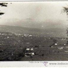 Postales: BONITA POSTAL - TENERIFE - VALLE DE LA OROTAVA - VISTA GENERAL - ED. ARRIBAS. Lote 35213788