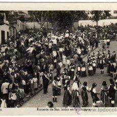 Postales: BONITA POSTAL - TENERIFE - ROMERIA DE SAN ISIDRO EN LA OROTAVA - MUY AMBIENTADA - ED. ARRIBAS. Lote 35213813