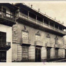 Postales: INTERESANTE POSTAL - TENERIFE - LA OROTAVA - CASA TYPICA. Lote 35213872