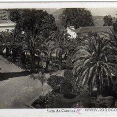 Postales: INTERESANTE POSTAL - OROTAVA (TENERIFE) - PLAZA DE CASAÑAS - ED. ARRIBAS. Lote 35213920