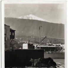 Postales: BONITA POSTAL - TENERIFE - EL TEIDE DESDE EL PUERTO DE LA CRUZ - ED. ARRIBAS. Lote 35214906