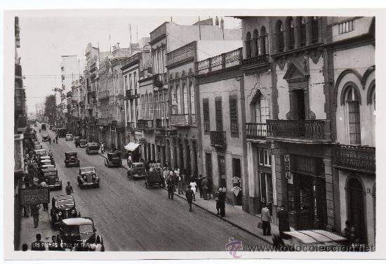 LAS PALMAS, CALLE DE TRIANA, EDIT.BAENA (Postales - España - Canarias Antigua (hasta 1939))