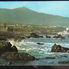 Postales: TARJETA POSTAL DE TENERIFE - DETALLE DE LA COSTA Y TEIDE. Nº 85. Lote 35491513