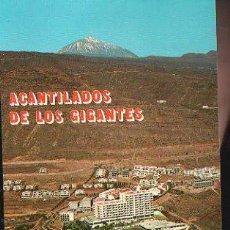 Cartes Postales: TARJETA POSTAL DE TENERIFE - LOS GIGANTES. HOTEL LOS GIGANTES Y TEIDE.. Lote 35491775