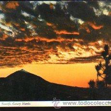 Postales: TARJETA POSTAL DE SANTA CRUZ DE TENERIFE - EL TEIDE. FOTO E. LUDWIG. Lote 35492281