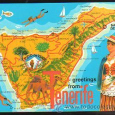 Postales: TARJETA POSTAL DE TENERIFE - PAISAJE TURISTICO. 2CT 252. Lote 35492464
