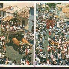 Postales: TARJETA POSTAL DE LA LAGUNA - ROMERIA DE SAN BENITO ABAD. ASPECTO GENERAL.. Lote 35493207