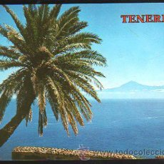 Postales: TARJETA POSTAL DE TENERIFE - EL TEIDE DESDE LA GOMERA. 5601. COLECCION PERLA. Lote 35493378