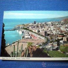 Postales: POSTAL SANTA CRUZ DE TENERIFE VISTA PARCIAL NO CIRCULADA. Lote 35571215