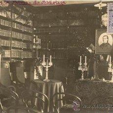 Postales: POSTAL ISLA DE LA PALMA LA BIBLIOTECA LUNA. Lote 35585024
