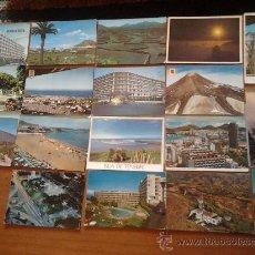Postales: POSTALES DE ISLAS CANARIAS LOTE DE 17 POSTALES . Lote 35857686