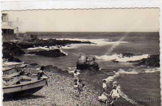 LAS PALMAS. 246 PLAYA DE SAN CRISTOBAL. ED ARRIBAS. SIN CIRCULAR. (Postales - España - Canarias Antigua (hasta 1939))