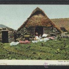 Postales: TENERIFE - CASAS DE CAMPESINOS - NOBREGAS 4744 - REVERSO SIN DIVIDIR - (13.652). Lote 36146735