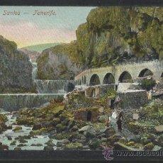 Postales: TENERIFE - BARRANCO DE SANTOS - REVERSO SIN DIVIDIR - (13.653). Lote 36146747