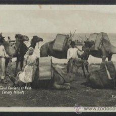 Postales: SAND CARRIERS ON KEST - CANARY ISLANDS - FOTO BAENA 23 - (13.656). Lote 36147283