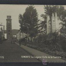 Postales: TENERIFE - JG 72 - LA LAGUNA CALLE DE LA CARRERA - FOTOGRAFICA - (13.849). Lote 36165994
