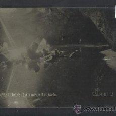 Postales: TENERIFE - JG 75 - LA CUEVA DEL HIELO - FOTOGRAFICA - (13.852). Lote 36166120