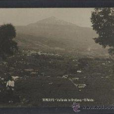 Postales: TENERIFE - JG 78 - VALLE DE LA OROTAVA . EL TEIDE - FOTOGRAFICA - (13.855). Lote 36166216
