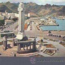 Postales: TARJETA POSTAL DE TENERIFE - MONUMENTO A LOS CAIDOS. CAN 615. Lote 36344526