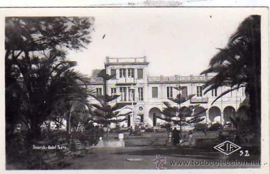 TENERIFE. HOTEL TAORO. CIF 52 FOTOGRÁFICA. SIN REVERSO. SIN CIRCULAR. (Postales - España - Canarias Antigua (hasta 1939))
