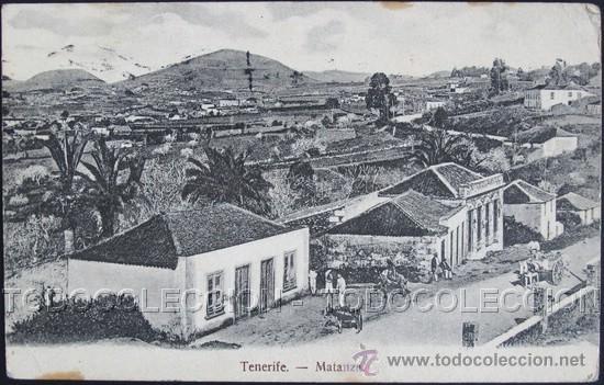 POSTAL TENERIFE MATANZA . NOBREGA CA AÑO1905 . (Postales - España - Canarias Antigua (hasta 1939))