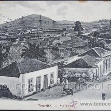Cartes Postales: POSTAL TENERIFE MATANZA . NOBREGA CA AÑO1905 .. Lote 36874921