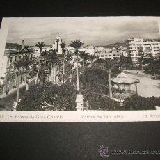 Postales: LAS PALMAS DE GRAN CANARIA PARQUE DE SAN TELMO. Lote 36993399