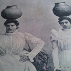 Postales: POSTAL TENERIFE CANARIAS - AGUADERAS - NOBREGA´S ENGLISH BAZAR. CIRCA 1911. Lote 37006080