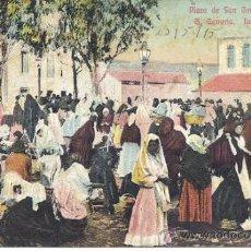 Postales: PS2020 GRAN CANARIA 'PLAZA DE SAN GREGORIO - TELDE'. CIRCULADA EN 1915. Lote 37102322