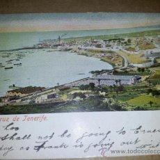 Postales: POSTAL SANTA CRUZ DE TENERIFE 7844 CIRCULADA 1907 SIN DIVIDIR . Lote 37339126