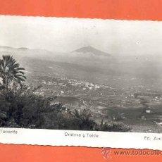 Postales: TENERIFE - OROTAVA Y TEIDE. Lote 37418808