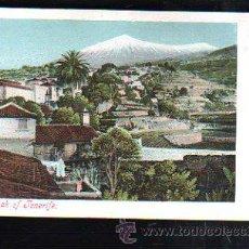 Postales: TARJ. POSTAL DE TENERIFE - PEAK OF TENERIFE. 1603.. Lote 37598282