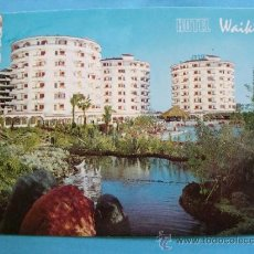 Postales: POSTAL DE GRAN CANARIA. AÑO 1975. PLAYA DEL INGLÉS, HOTEL WAIKIKI. 926. . Lote 37634034