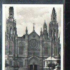 Postales: TARJ. POSTAL DE LAS PALMAS DE GRAN CANARIA - LA CATEDRAL. ARUCAS. Lote 37669643