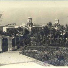 Postales: LAS PALMAS (GRAN CANARIA).- HOTEL SANTA CATALINA. JARDINES. Lote 37703293