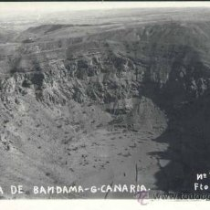 Postales: GRAN CANARIA.- CALDERA DE BANDAMA. Lote 37703469