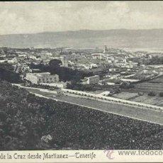Postales: TENERIFE.- PUERTO DE LA CRUZ DESDE MARTIANEZ. Lote 37761502